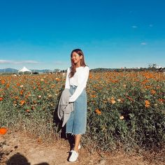 Preppy and demure OOTD with Daily About blouse and denim skirt! : Preppy and demure OOTD with Daily About blouse and denim skirt! Modest Fashion, Skirt Fashion, Fashion Outfits, Fashion Shirts, Modest Clothing, Emo Fashion, Style Fashion, Korean Blouse, Skirt Outfits Modest