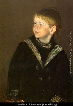 The Sailor Boy: Gardener Cassatt - Mary Cassatt - www.marycassatt.org