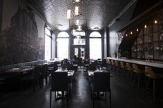 The Best Restaurants In Montreal Restaurant Montreal, Of Montreal, Commercial Interior Design, Commercial Interiors, Restaurant Design, Restaurant Bar, Restaurants, Heat Map, Architecture