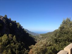 Climbing out of Soller Sept'12
