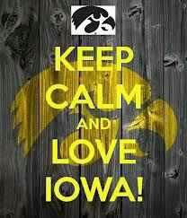 I love my Iowa Hawkeyes