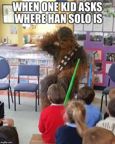 Chewbacca Remembers