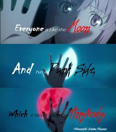 Everyone Has A Dark Side Yuno Gasai...Mirai Nikki