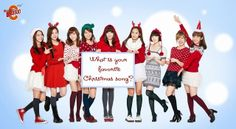 Kpop list for Christmas. Which song is your favorite? - Latest K-pop News - K-pop News | Daily K Pop News