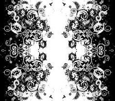 Nice Design Grey And White WallpaperWallpaper