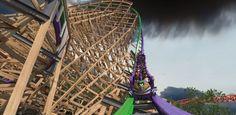 O parque de diversão Six Flags Discovery Kingdom, localizado na cidade californiana de Vallejo, irá inaugurar, em meados de 2016, uma montanha-russa inspir...