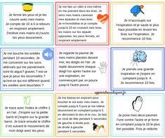 9 exercices de retour au calme pour les enfants (5 ans et +) - stress, anxiété, colère - Apprendre à éduquer