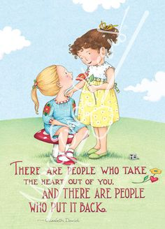 Mary Engelbreit is known for her distinctive illustrations, featured on best-selling calendars, children's books, greeting cards, figurines and more! Mary Engelbreit, True Friends, Good Thoughts, Friendship Quotes, In This World, Childrens Books, Wise Words, Illustrators, Favorite Quotes