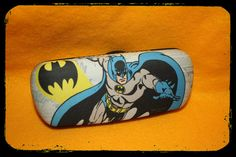 Batman Eyeglass case hard shell by ClownLaugh on Etsy
