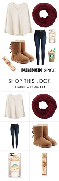 """""""Untitled #151"""" by greentrouble ❤ liked on Polyvore featuring MANGO, UGG and Casetify"""
