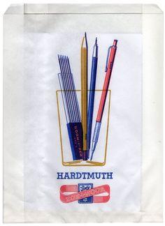 Pencil bag #thevintees #illustration