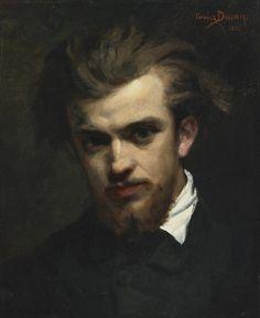 Carolus-Duran (French, 1837-1917), Portrait of Henri Fantin-Latour, 1861