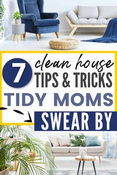What's the secret to keeping a tidy house when you are a busy, working mom? Learn 7 habits that moms with clean houses have. Clean house tips that will help you to create and maintain a neat and tidy home, even if you have kids. #cleanhouse #tidyup #tidyhome Neat And Tidy, Tidy Up, Declutter Your Home, Organizing Your Home, House Cleaning Tips, Cleaning Hacks, Clutter Free Home, Home Organization Hacks, Business For Kids