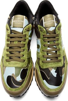 """Valentino: Camo Green & Read Low Top Sneakers  """"Be more than ordinary be Extraordinary!""""- EXTRAORDINARY MEN'S WEAR  Check us out on Square Market- https://squareup.com/market/extraordinary-mens-wear on Pinterest http://www.pinterest.com/pin/446489750530901490/  and  be sure to like our Facebook fan page at https://www.facebook.com/pages/EXTRAORDINARY-MENS-WEAR/271437229586273?ref=hlwhy"""
