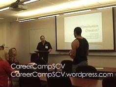 Self-Employment Checklist with Ed Bernstein - Video from CareerCampSCV