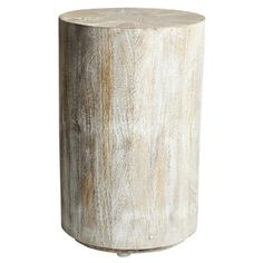 Driftwood Drum Table- LR
