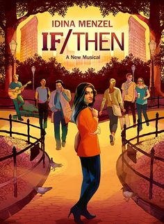 Brand new poster art for 'If/Then' starring Idina Menzel