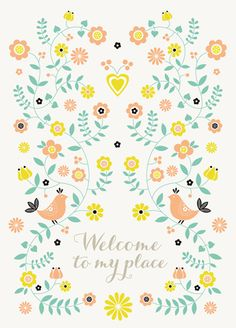 print & pattern - and welcome!