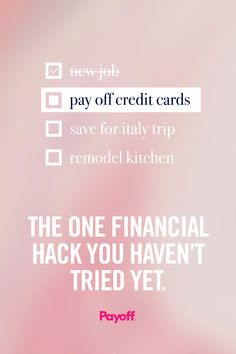 Say goodbye to credit card payments and hello to a happier you. Low interest rates, one monthly payment, no hidden fees. Best of all, checking your rate doesn't hurt your credit score. Apply now!