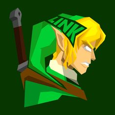 #popheadshots The Legend of Zelda's Link by @MataNataM (inspired by @Bosslogic)