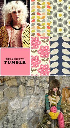 tuesday's girl: orla kiely's tumblr.