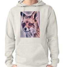 'Realistischer Fuchs ' T-Shirt von Wolfteamshop Hoodies, Sweatshirts, Sweaters, Design, Stuff To Buy, Shopping, Fashion, Hoodie, Moda