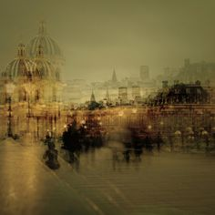 Paris by Stephanie Jung, via Behance