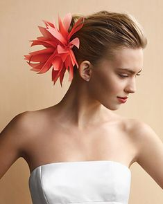Bobby Pins with Fabric Flowers