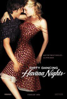 Dirty Dancing: Havana Nights (2004) - Set in 1958, a young American girl moves out to Cuba with her family. While staying in a hotel, she meets a young waiter who she later finds to be a great dancer. The boy is fired as a result of being seen with her, so she invites him to participate in a Latin ballroom contest. As they rehearse in secret they inevitably fall in love.  - See more at: http://www.salsa-dancers.com/salsa-movie.html