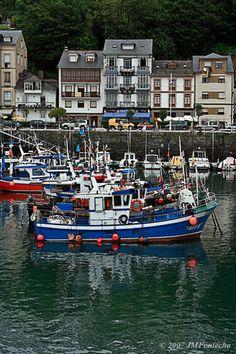 Puerto de Luarca Asturias Spain
