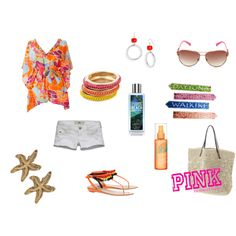 Beachy <3, created by rachaelpifer on Polyvore