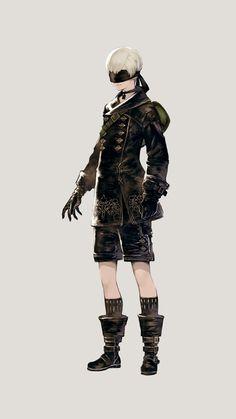 「NieR:Automata」の主人公「2B」のCVは石川由依さん。新キャラクター「9S」「A2」の情報も公開 - 4Gamer.net