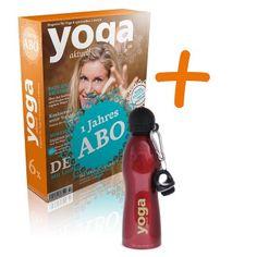1-Jahres-Abo + Trinkflasche Yoga Aktuell
