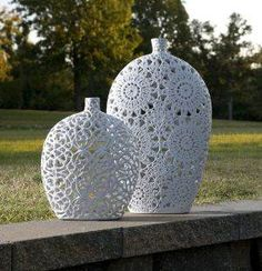 Small Lacey Vase