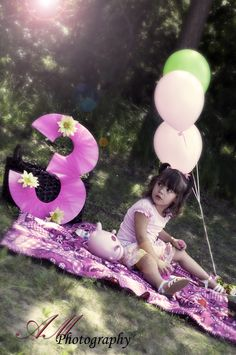 #photography #kidsbirthdayphotography 3 year old session set up like a girly tea party www.facebook.com/AMPhotographyAM