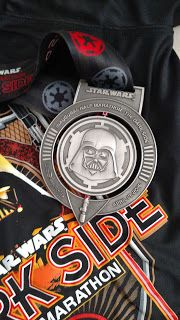 runDisney Star Wars Half Marathon - the Dark Side - Race Recap