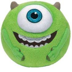 289987fcf1e Ty Beanie Ballz Mike Green Eyeball Medium Plush