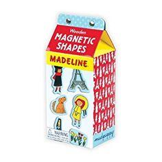 Amazon.com: Mudpuppy Madeline Wooden Magnetic Shapes: Mudpuppy, Ludwig Bemelmans: Toys & Games
