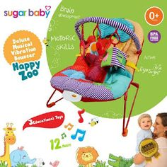 Take Baby Shoppee: PROMO Sugar Baby Deluxe Musical Vibration Bouncer ...
