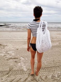 Hey, I found this really awesome Etsy listing at https://www.etsy.com/listing/125543540/white-oversized-beach-bag-crochet-knit