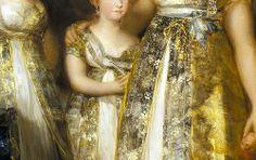 Francisco de Goya, La Familia de Carlos IV detail, ca.1800-1