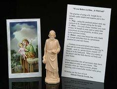TOPSELLER! St Joseph Home Seller Statue $2.28