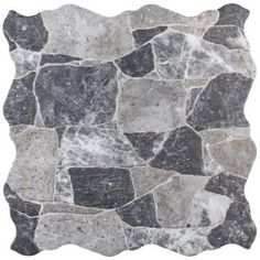 Merola Tile Attica Beige 16-7/8 in. x 16-7/8 in. Ceramic Floor and Wall Tile (14.15 sq. ft. / case)-FAZ18ATB - The Home Depot Rock Tile, Tiles Texture, Stone Tiles, Stone Backsplash, Stone Mosaic, Commercial Kitchen, Grey Stone, Faux Stone, Color Tile