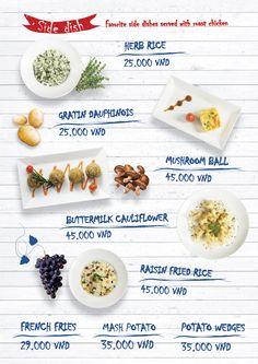 Side dish - Món ăn kèm