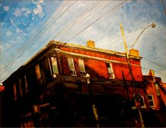 Morning Comes / Stewart Jones / StudiohousePEC / oil on canvas / painter / Prince Edward County