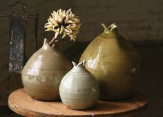 organic bloom vases from @AWE (at west end)