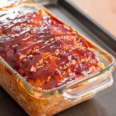 My Favorite Meatloaf - a true comfort meal that's perfect for a cold winter day.