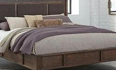 Zenfield Queen Panel Bed by Ashley HomeStore, Medium Brown Dreams Bed Frames, Bed Cap, Bedroom Furniture Online, Country Bedding, Stylish Bedroom, Modern Bedroom, Bedroom Bed, Master Bedroom, Bedroom Ideas