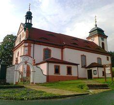 Kostel sv. Jana Nepomuckého - Jetřichovice - Česko