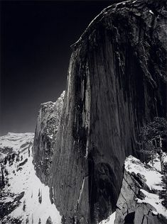View Monolith, the Face of Half Dome, Yosemite National Park, California, 1927 by Ansel Adams on artnet. Browse more artworks Ansel Adams from Ansel Adams Gallery. Ansel Adams Photography, Dark Photography, Vintage Photography, Digital Photography, Black And White Photography, Photography Ideas, Straight Photography, Photography Lessons, Sierra Nevada